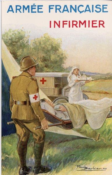 Croix rouge infirmier
