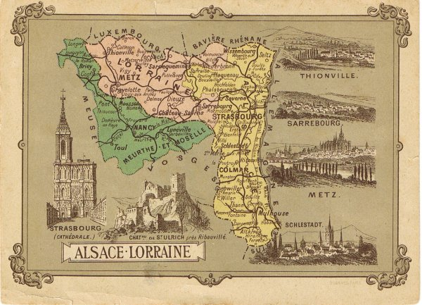 Alsace-Lorraine 1870