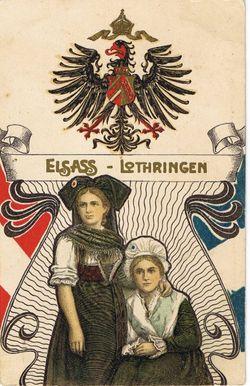 1871 Elsass-Lothringen