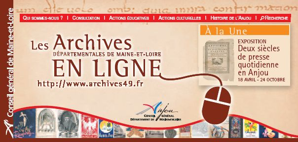 AD49 - Archives en lign